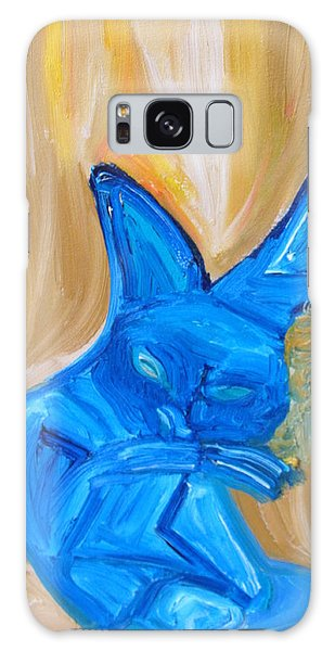 The Cat Camelion  Galaxy Case by Shea Holliman