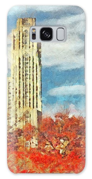 The Cathedral Of Learning At The University Of Pittsburgh Galaxy Case