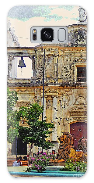 The Cathedral Of Leon Galaxy Case by Lydia Holly