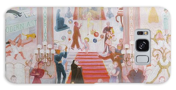 Central America Galaxy Case - The Cathedrals Of Art by Florine Stettheimer