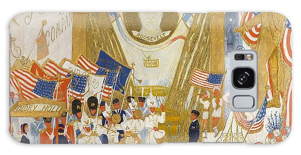 Central America Galaxy Case - The Cathedrals Of Wall Street by Florine Stettheimer