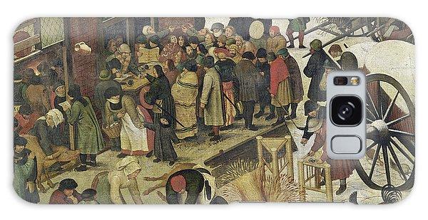 Bethlehem Galaxy Case - The Census At Bethlehem by Bruegel