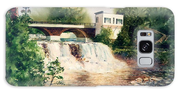 The Chagrin Falls In Summer Galaxy Case