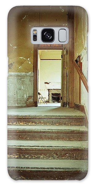 The Chair At The Top Of The Stairs Galaxy Case by Holly Blunkall