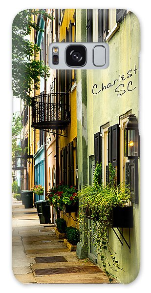 The Charm Of Charleston Galaxy Case by Karol Livote