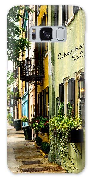 The Charm Of Charleston Galaxy Case