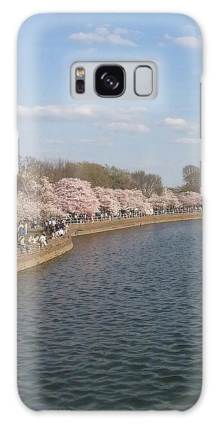 The Cherry Blossom Festival In D.  C Galaxy Case