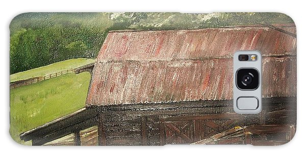 The Cherrys Barn Galaxy Case by Jan Dappen