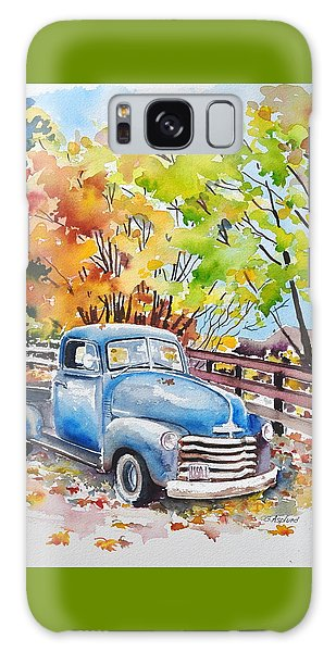 The Old Chevy In Autumn Galaxy Case