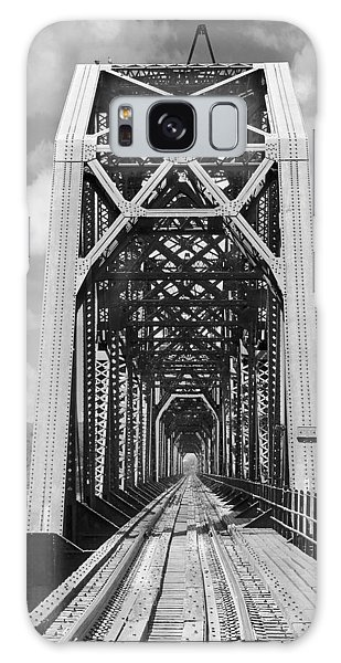 Chicago Art Galaxy Case - The Chicago And North Western Railroad Bridge by Mike McGlothlen
