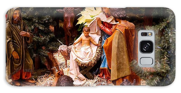 The Christmas Creche At Holy Name Cathedral - Chicago Galaxy Case