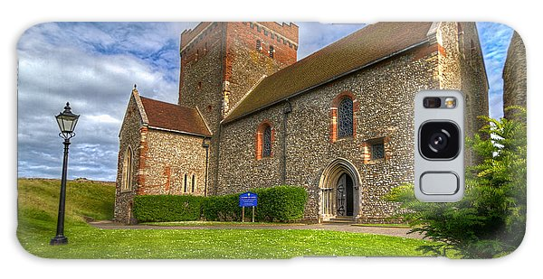 The Church At Dover Castle Galaxy Case by Tim Stanley