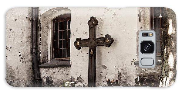 The Church Courtyard Galaxy Case