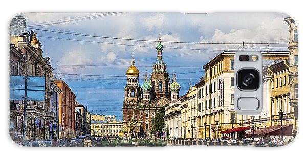 The Church Of Our Savior On Spilled Blood - St. Petersburg - Russia Galaxy Case