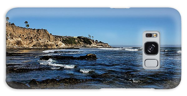 The Cliffs Of Pismo Beach Galaxy Case by Judy Vincent