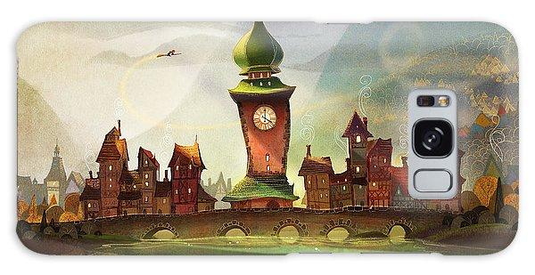 Fairy Galaxy S8 Case - The Clock Tower by Kristina Vardazaryan