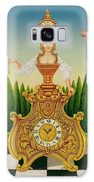 Clock Galaxy Case - The Clockmakers Wife by Frances Broomfield