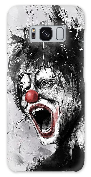 Surreal Galaxy Case - The Clown by Balazs Solti