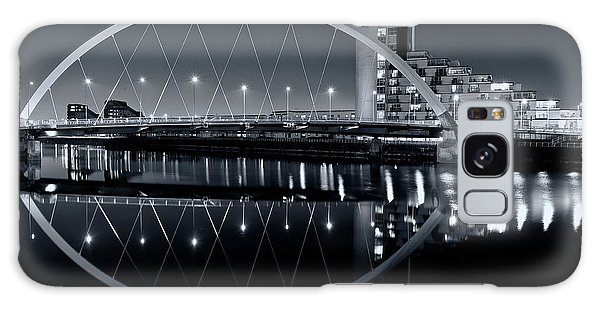 The Clyde Arc Black And White Galaxy Case