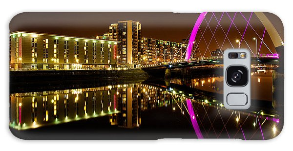 The Clyde Arc In Purple Galaxy Case by Stephen Taylor