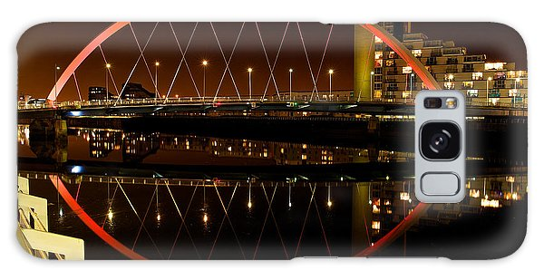 The Clyde Arc In Red Galaxy Case by Stephen Taylor