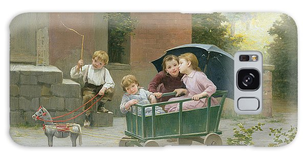 Whip Galaxy Case - The Coach Ride by Charles Bertrand DEntraygues