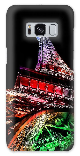 Eiffel Tower Galaxy S8 Case - The Color Of Love by Az Jackson
