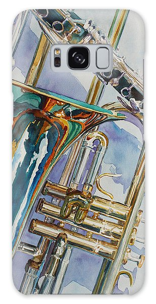 Trombone Galaxy S8 Case - The Color Of Music by Jenny Armitage