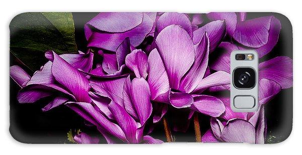 The Color Purple Galaxy Case by Len Romanick