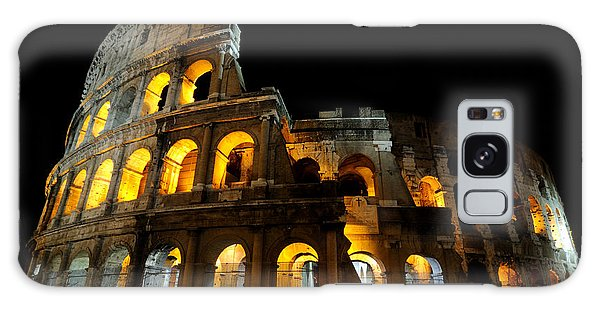 The Colosseum At Night Galaxy Case by Jeremy Voisey