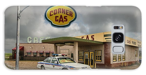 The Corner Gas Station From The Canadian Tv Sitcom Galaxy Case