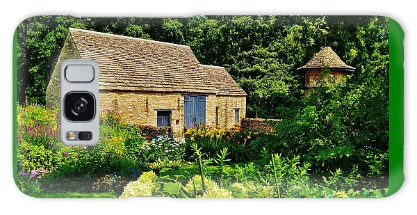 The Cotswald Barn And Dovecove Galaxy Case