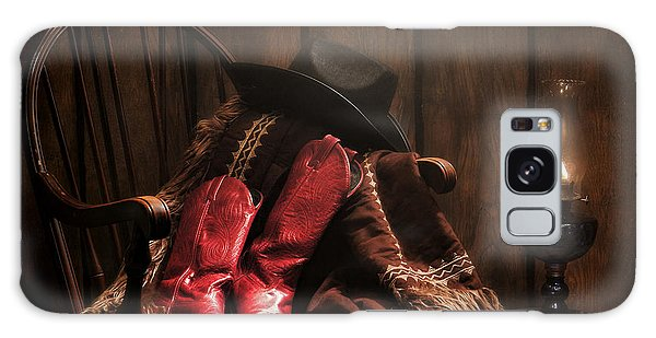 The Cowgirl Rest Galaxy Case