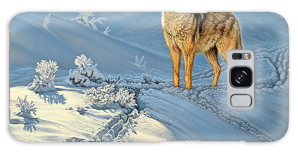 Wildlife Galaxy Case - the Coyote - God's Dog by Paul Krapf