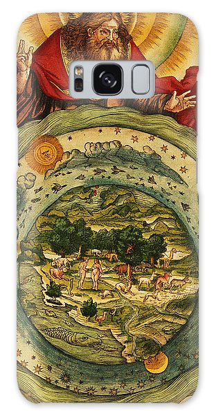 World Religion Galaxy Case - The Creation, From The Lutheran Bible by German School