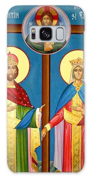 The Cross Icon Galaxy Case by Munir Alawi