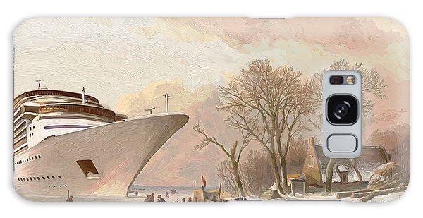 The Cruiseboat Galaxy Case by Nop Briex