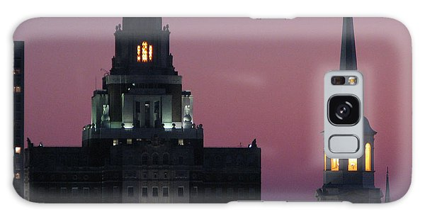 The Customs Building And Christ Church Galaxy Case by Christopher Woods