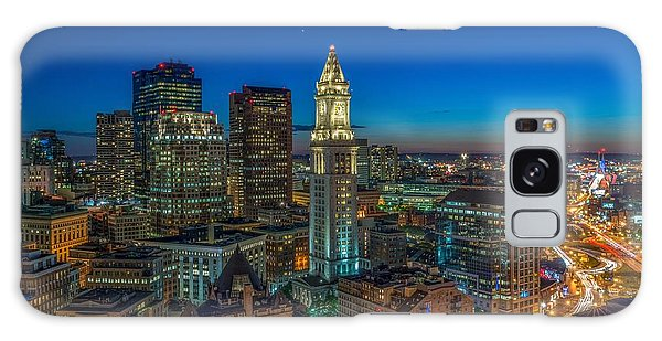 The Customs House Rose Kennedy Greenway And The Zakim Bridge Galaxy Case
