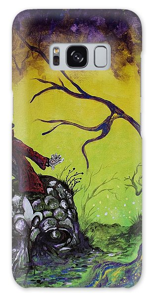 Strange Clouds Galaxy Case - The Cypress Dream by Billy Fountain