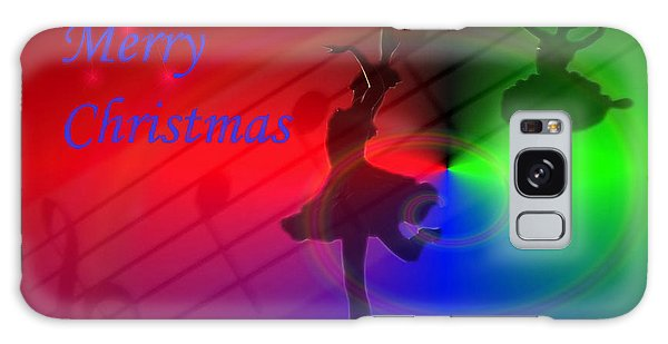 The Dance - Merry Christmas Galaxy Case