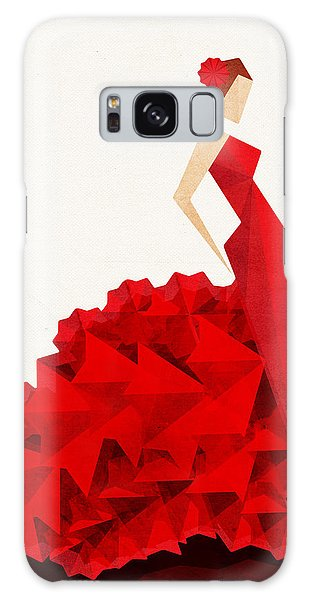 The Dancer Flamenco Galaxy Case by VessDSign