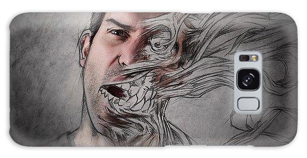 Creative Galaxy Case - The Dark Side Of My Sketch IIi by Sebastien Del Grosso