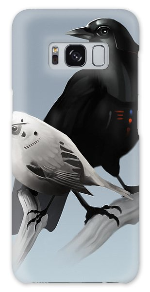 The Dark Side Of The Flock Galaxy Case by Michael Myers