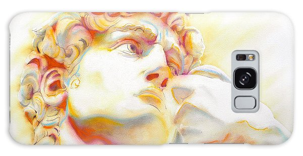 The David By Michelangelo. Tribute Galaxy Case by J- J- Espinoza
