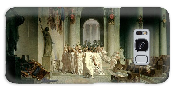 Ides Of March Galaxy Case - The Death Of Caesar by Jean Leon Gerome