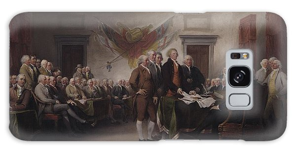 The Declaration Of Independence, July 4, 1776 Galaxy Case