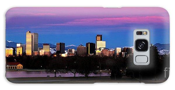The Denver Skyline Galaxy Case