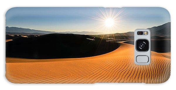 Galaxy Case featuring the photograph The Desert Sun by Dan Mihai
