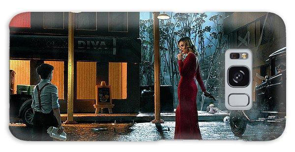 Guns Galaxy Case - The Devil Wears Red by Sergey Parishkov